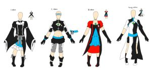 Setsuko Outfits by animelovesmanga801