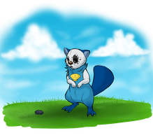 Quinnton the Oshawott by blueharuka