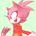 Blaze Deliberately Looking The Other Way by knockabiller
