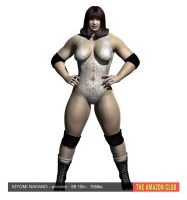 Kiyomi Nakano - wrestler - 5ft 10in - 155lbs by theamazonclub