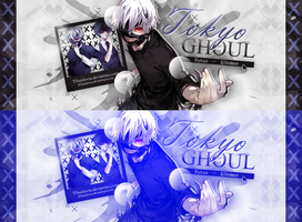 +Tokyo Ghoul - Portada by ThisIsLovee