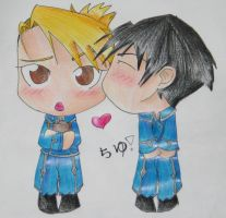 Royai-Chibis by iHeartPigs0618