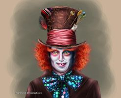 .Mad Hatter. by Mareishon
