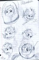 Minion sketches by Pirate-Envy