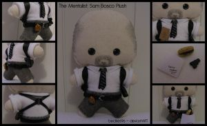 Mentalist: Sam Bosco Plush by StitchedAlchemy