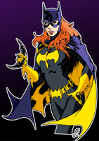 Batgirl - colors - Darnet - Egli by topher208