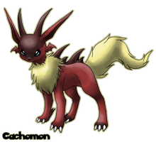 Eeveelution: Lizardeon by Cachomon
