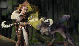 Valka And The Hobblegrunt Leak by Frie-Ice