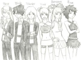 RowdyRock Boys and Powerpunk Girls by guardian-angel15