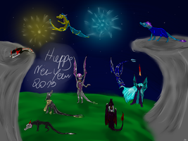 Happy new year 2013 by OlianaLastAngel