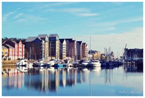 Portishead Quays Marina by likalileal