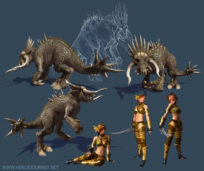 Hero's Journey Creatures 2 by tracyjb
