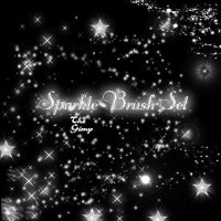 Sparkle Brush Set by faeryfroggy-stock