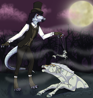 By Haunted Moonlight by R-o-d-e-n-t