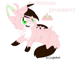 -Princess Strawberry Auction- *CLOSED* by xXPastelWishesXx