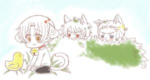 APH- A Kitty's Stalkers by ShiroiAngelz