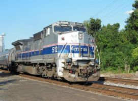 Amtrak P32 No. 512 at Culpeper by rlkitterman