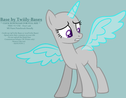 MLP Base 63 - Confound These Wings! by Twiily-Bases