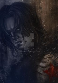 The Winter Soldier by RedixArt