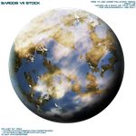 Sargos VII Planet - Stock by Joran-Belar