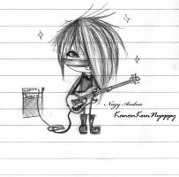 Rock star ID :'3 by KanonKunNyappy