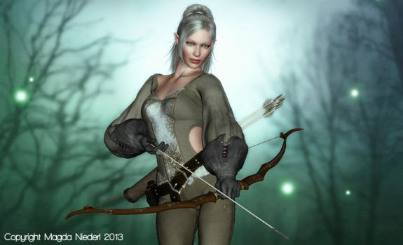 Enya - The Archer by haunted-passion