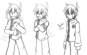Twokinds: Trace Legacy different poses 1 by cjwolf207