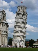 The Leaning Tower of Pisa no.2 by Silthria