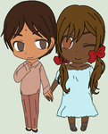 Hetalia - India / Seychelles by MapleBeer-Shipper