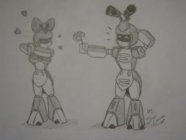 Ladybee and Metabee by Jean-Claude17