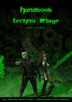 Cover Handbook Techno Mage by Hellwolve