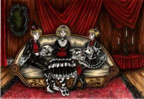 Creepy and cute by sombrefeli by Realm-of-Fantasy