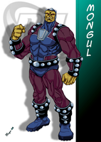 DC Comic's Mongul by skywarp-2