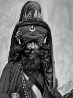 Nihang Singh 2 - greyscale by prince911
