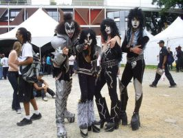 KISS Cosplay by Dark-ink-Factory