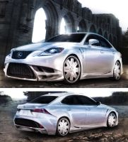 Lexus IS 2 by AlexanderLevett