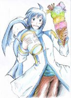 VOCALOID Kaito by hewhowalksdeath
