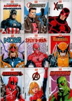 Marvel NOW Sketch Cards Set 1 by wardogs101