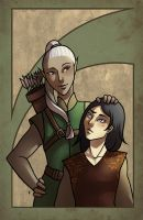 Beleg and Turin by Ilweran