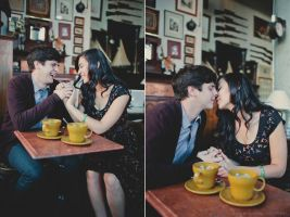 Robbie and Mae Leah Engagement 03 by stuckwithpins