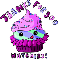 Thanks for 300 Watchers by TheFlyinFerret