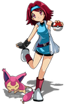 Pokemon OC Minori by AnzuAngel