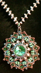 Emerald Medallion by Binkees-Baubles