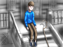 Jack Frost as a human - Day 01 - In his sneakers by JackFrostOverland