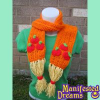 Applejack inspired cosplay scarf by ManifestedDreams