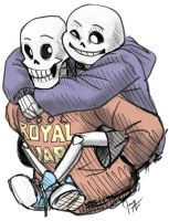 Undertale Skelebrocarry by jameson9101322