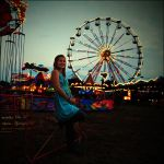 fairground photoshoot: Ola II by magnesina