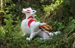 Amaterasu in the Forest by SirDragonLance