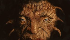 The face of Boe by Siegahertz