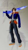 Squall Is Chill - Dissidia 012 Final Fantasy by liltone93